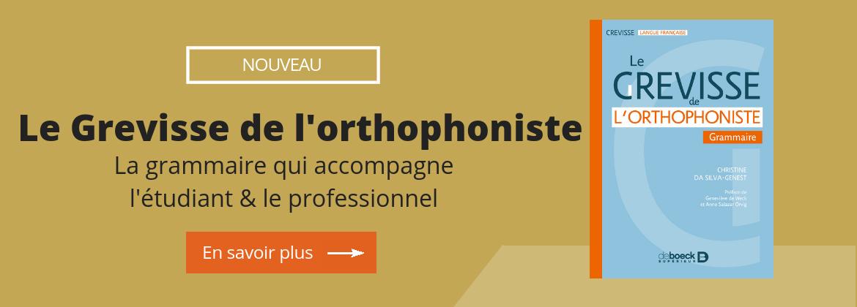 Le Grevisse de l'orthophoniste